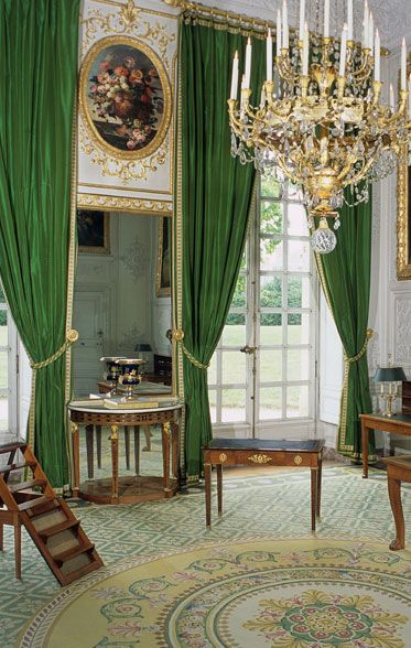 Le grand trianon petits appartements empereur et appartements - Residence grand siecle versailles ...