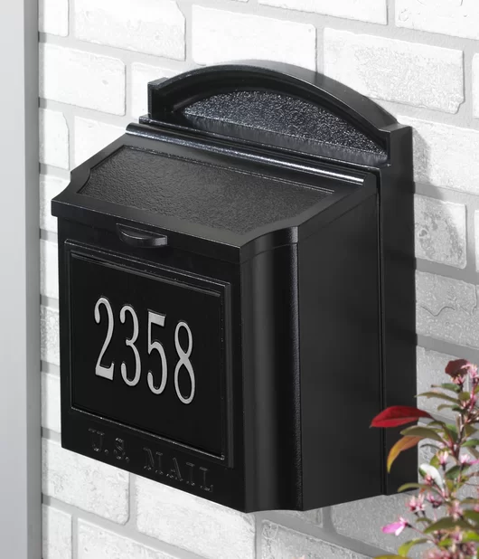 locking wall mounted mailbox in 2020 with images on wall mount id=34340