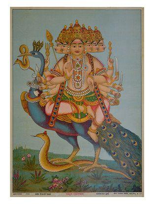 Raja Ravi Varma karttikeya