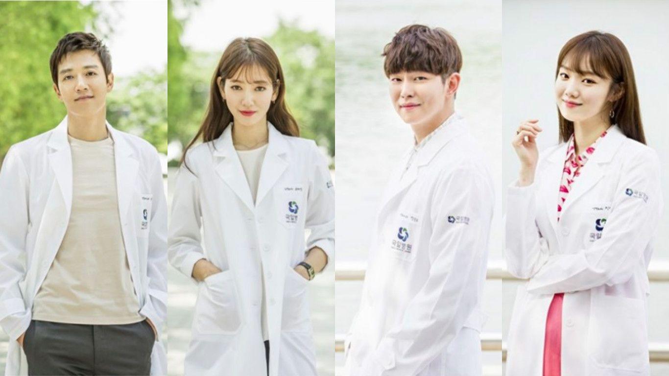 Doctors Releases Character Stills Of Main Cast Doctors Korean Drama Drama Korea Kim Rae Won