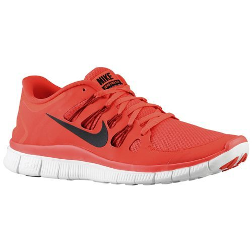 Nike Free 5.0+ - Men's - Running - Shoes - Light Crimson/Gym Red