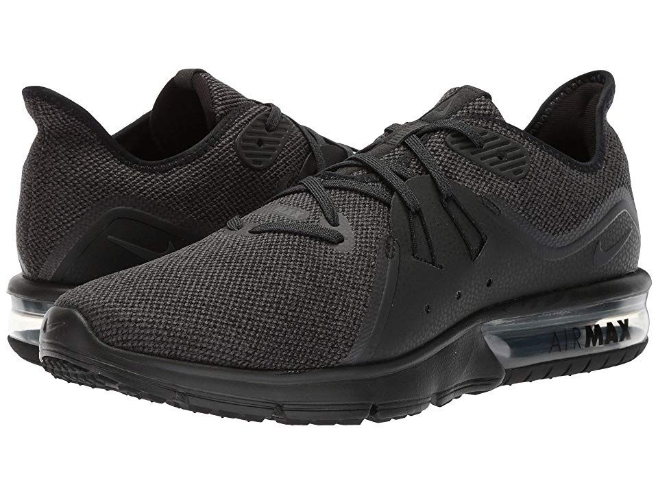 nike air max sequent 3 full black