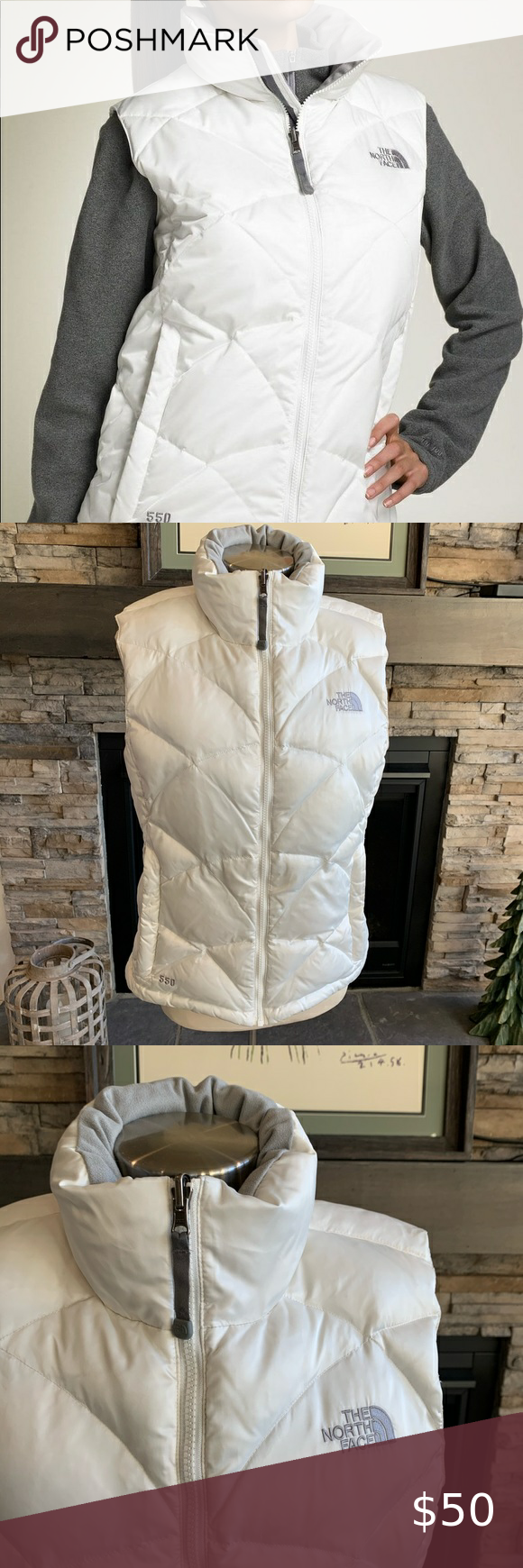 The North Face 550 women's puffer vest