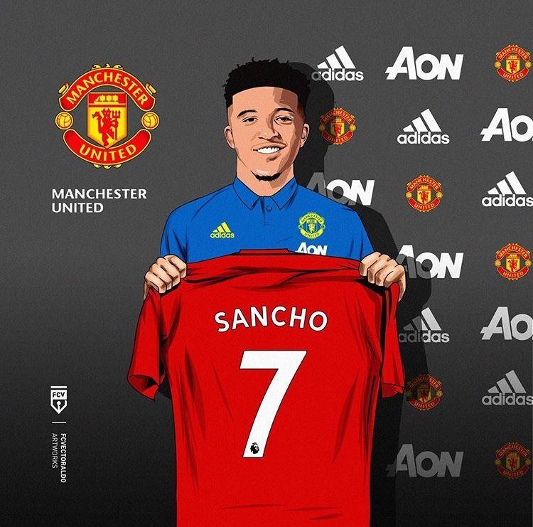 Manchester united sancho | Manchester united, Manchester, Ronaldo football