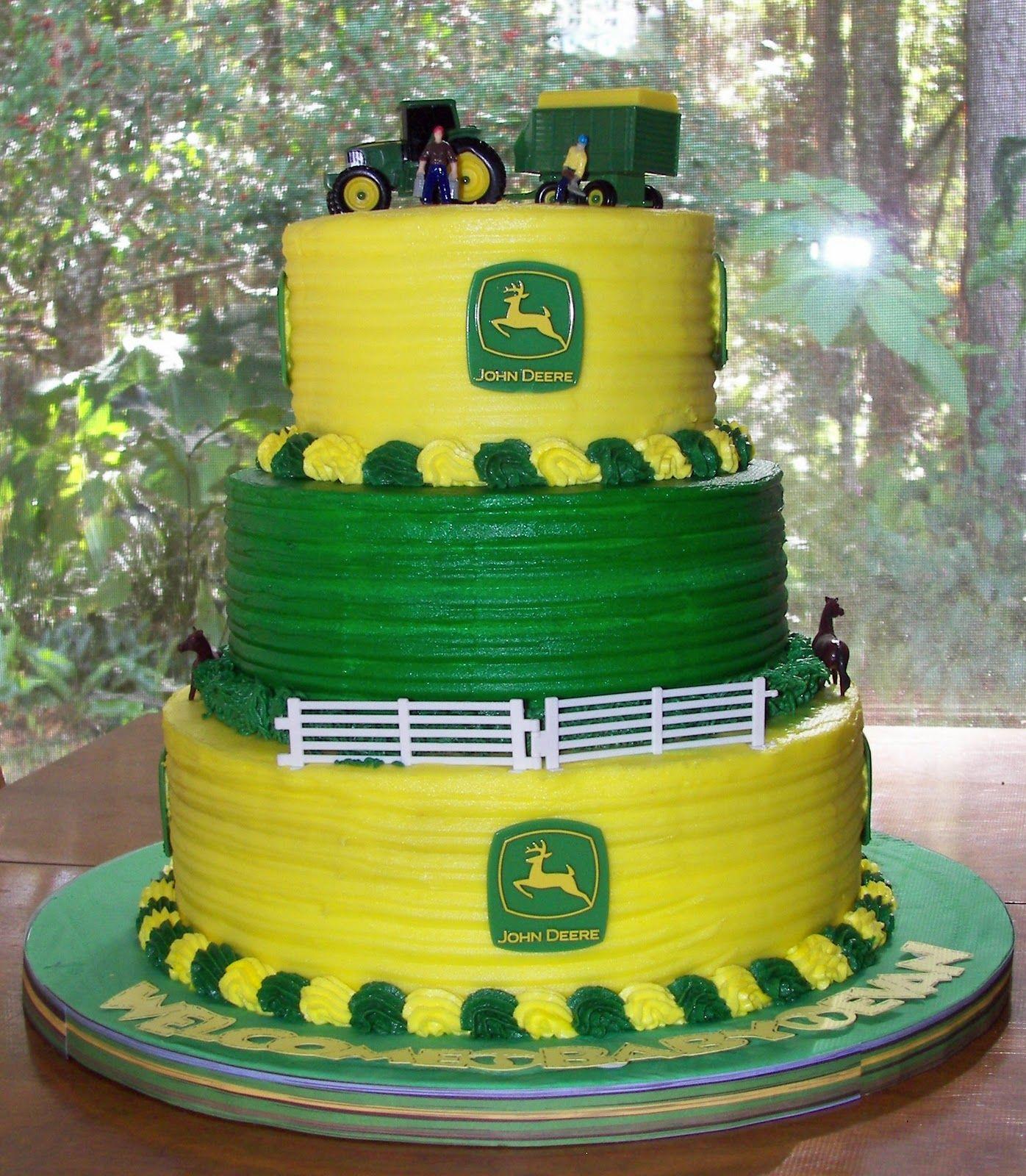 John Deere Cupcake Decorations