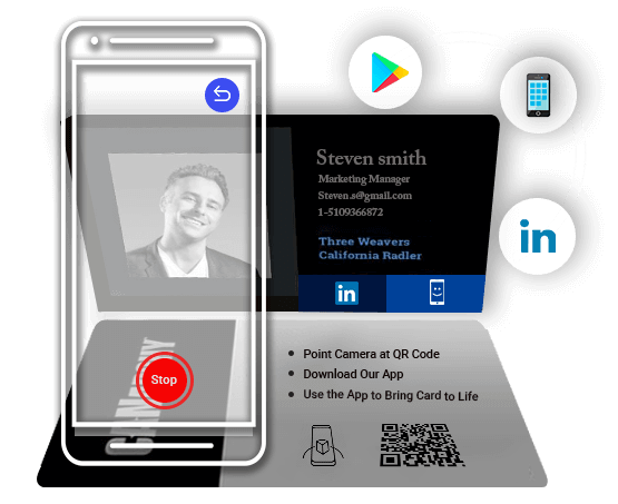 Augmented Reality Business Cards Augmented Reality App Development Companies Project Management Tools