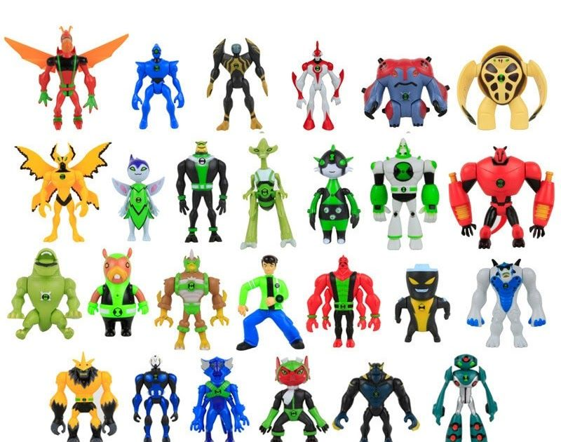 Haywire Alien List 2 Ben 10 Action figures 10 cm-CHOICE 220 Omniverse Ultimate