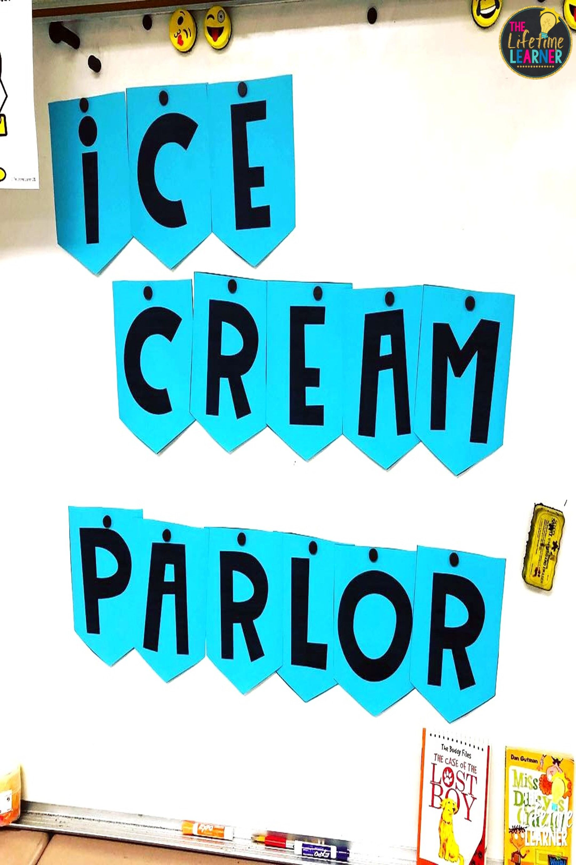 Ice Cream Classroom Transformation