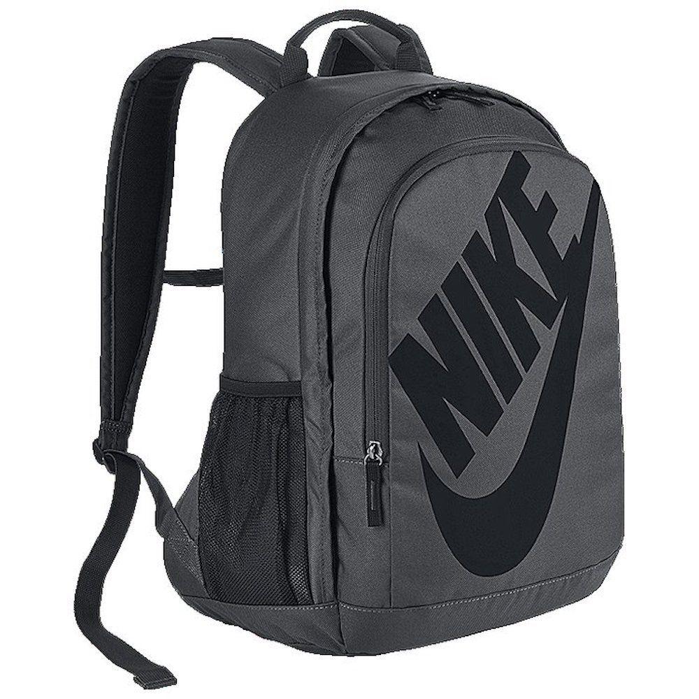 Men S Nike Sportswear Hayward Futura 2 0 Backpack Dark Grey Black Size One Size Polyester Shell Has A Dense Weave F Nike Backpack Nike Outfits Nike Sportswear