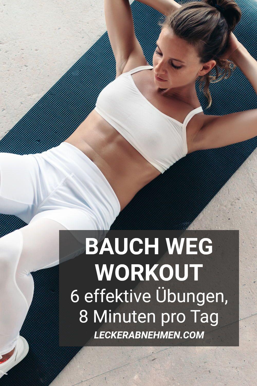 Übungen zur Verbrennung von Bauchfett bei Frauen