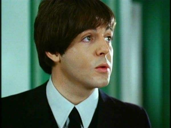 Paul McCartney Color Shot From Help