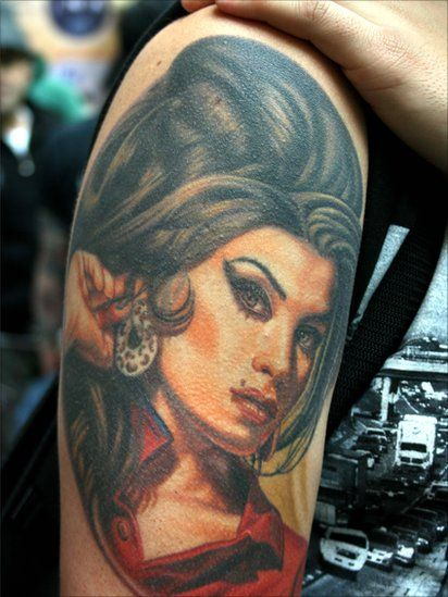 In Pictures: Inking Up | Amy winehouse, Tattoo and London ...  In Pictures: In...