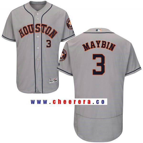 new style f8ebf 72ea2 Men's Houston Astros #3 Cameron Maybin Gay Road Stitched MLB ...