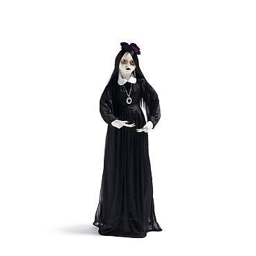 Life-size Abigale Vampire Kid $89 Grandin Road Halloween Haven - life size halloween decorations