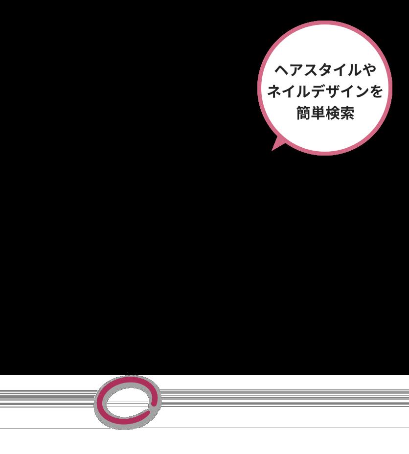 サロン検索 Iphoneアプリ Androidアプリのご紹介 ホットペッパービューティー ビューティー アプリ Iphone Android アプリ