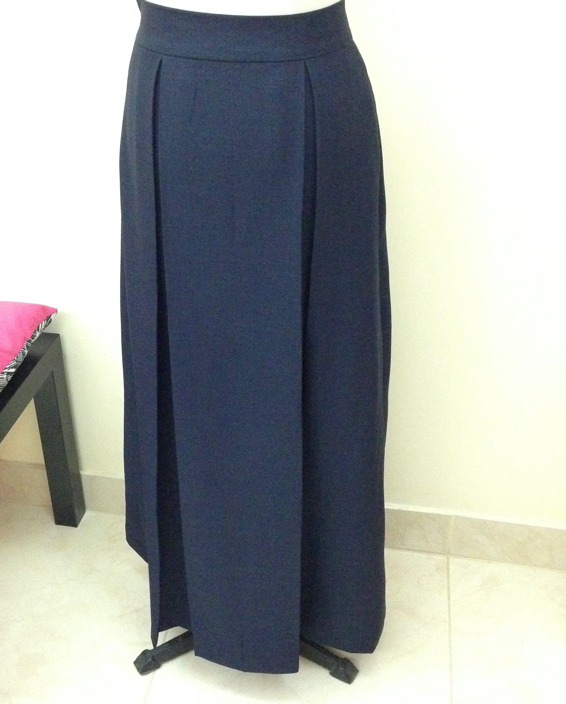 خياطة تنورة مريول مدرسة How To Make School Skirt Maxi Skirt Fashion Maxi