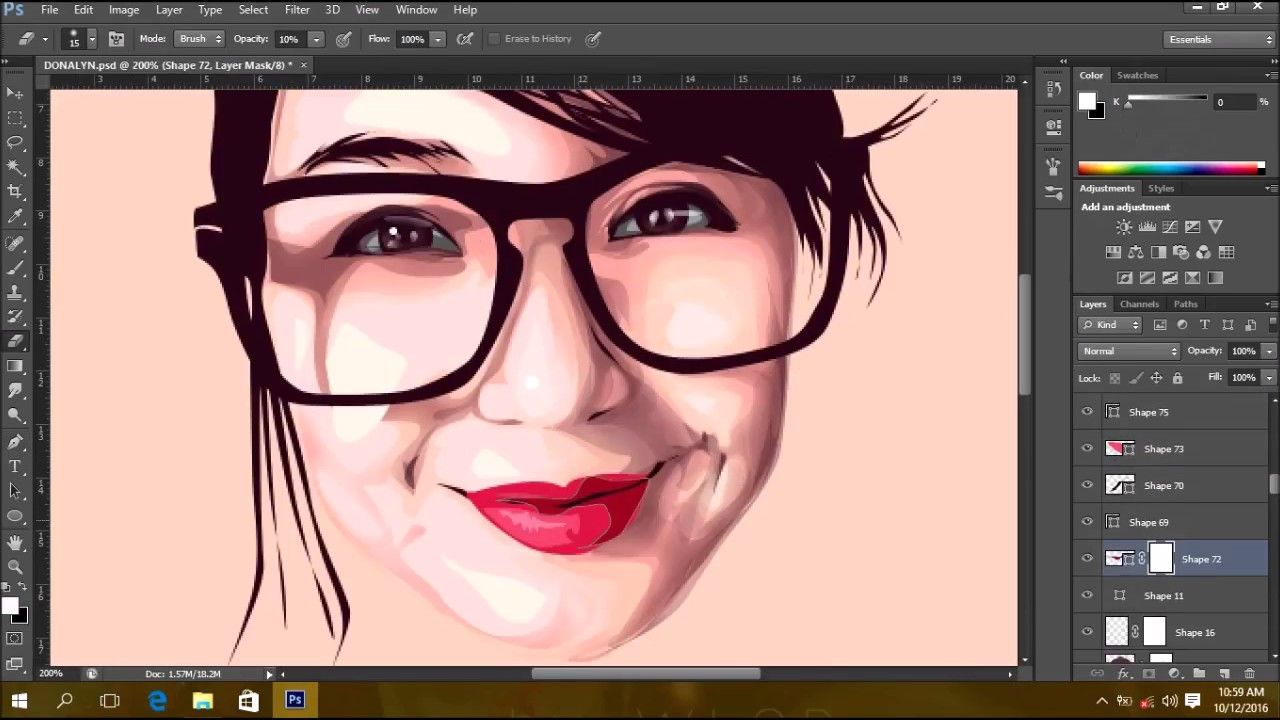 How to make vectorvexel on photoshop cs6 time lapse video how to make vectorvexel on photoshop cs6 time lapse video tutorial baditri Gallery