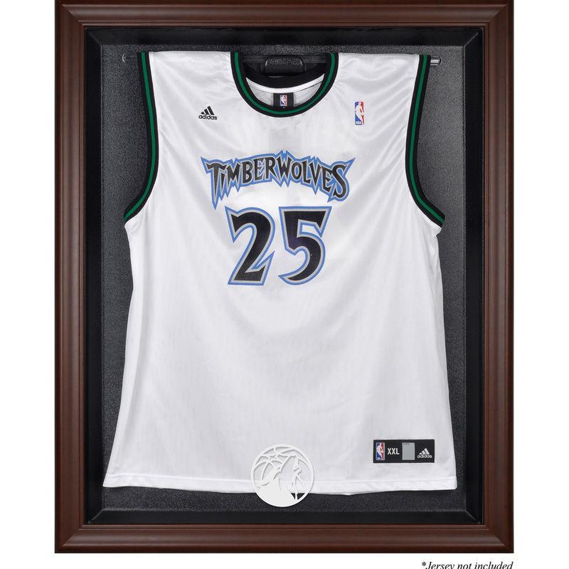 Minnesota Timberwolves Fanatics Authentic Framed Brown Jersey Display Case c12fee67e