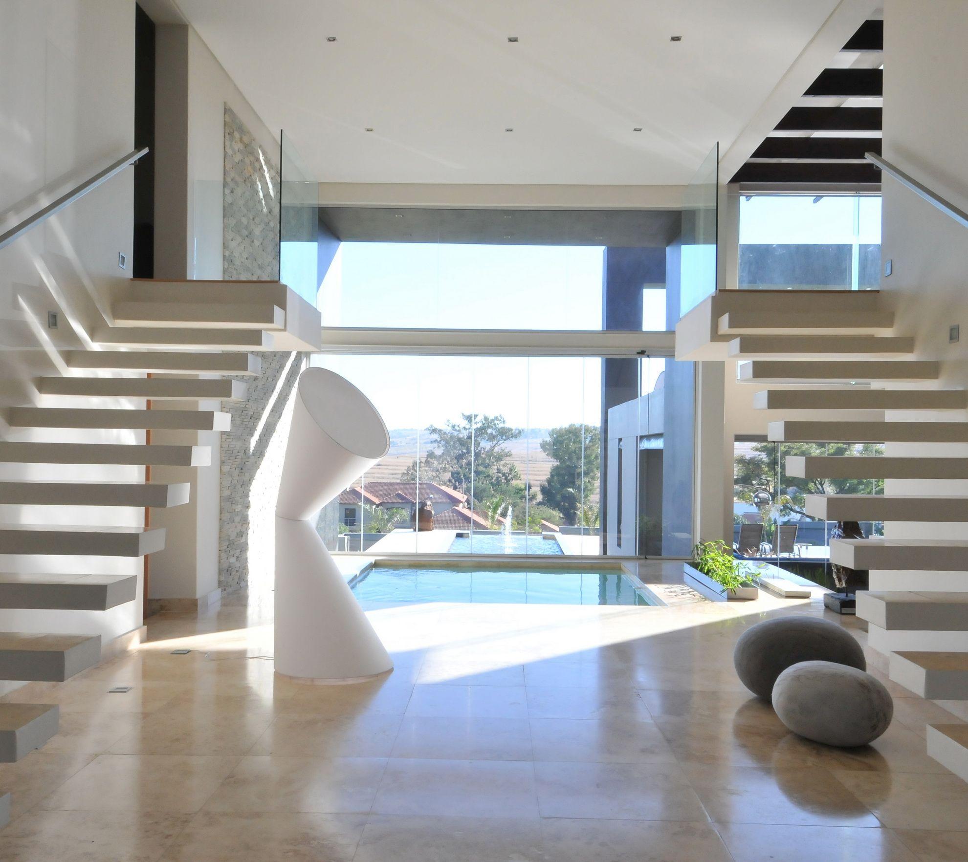 Interior Designs Stairs Location: Nico Van Der Meulen Architects