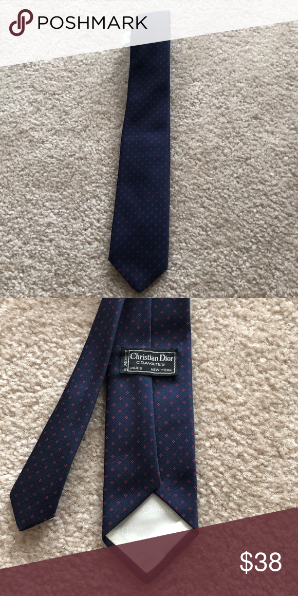 4b752d62d36c Christian Dior Tie Authentic Dior tie. Polyester blend. Dior Accessories  Ties