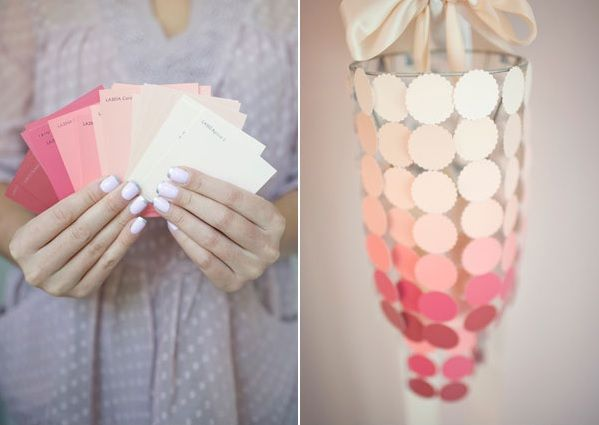 12 Fun and Colorful DIY Paint Swatch Projects 0 - https://www.facebook.com/diplyofficial