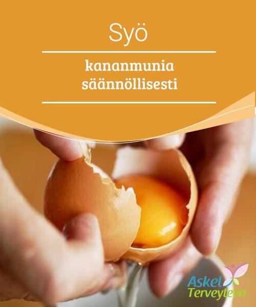 Syö kananmunia säännöllisesti   Tässä artikkelissa otamme selvää siitä, mitä terveysvaikutuksia kananmunalla on, ja toivottavasti saat uutta inspiraatiota kananmunien syömiseen.