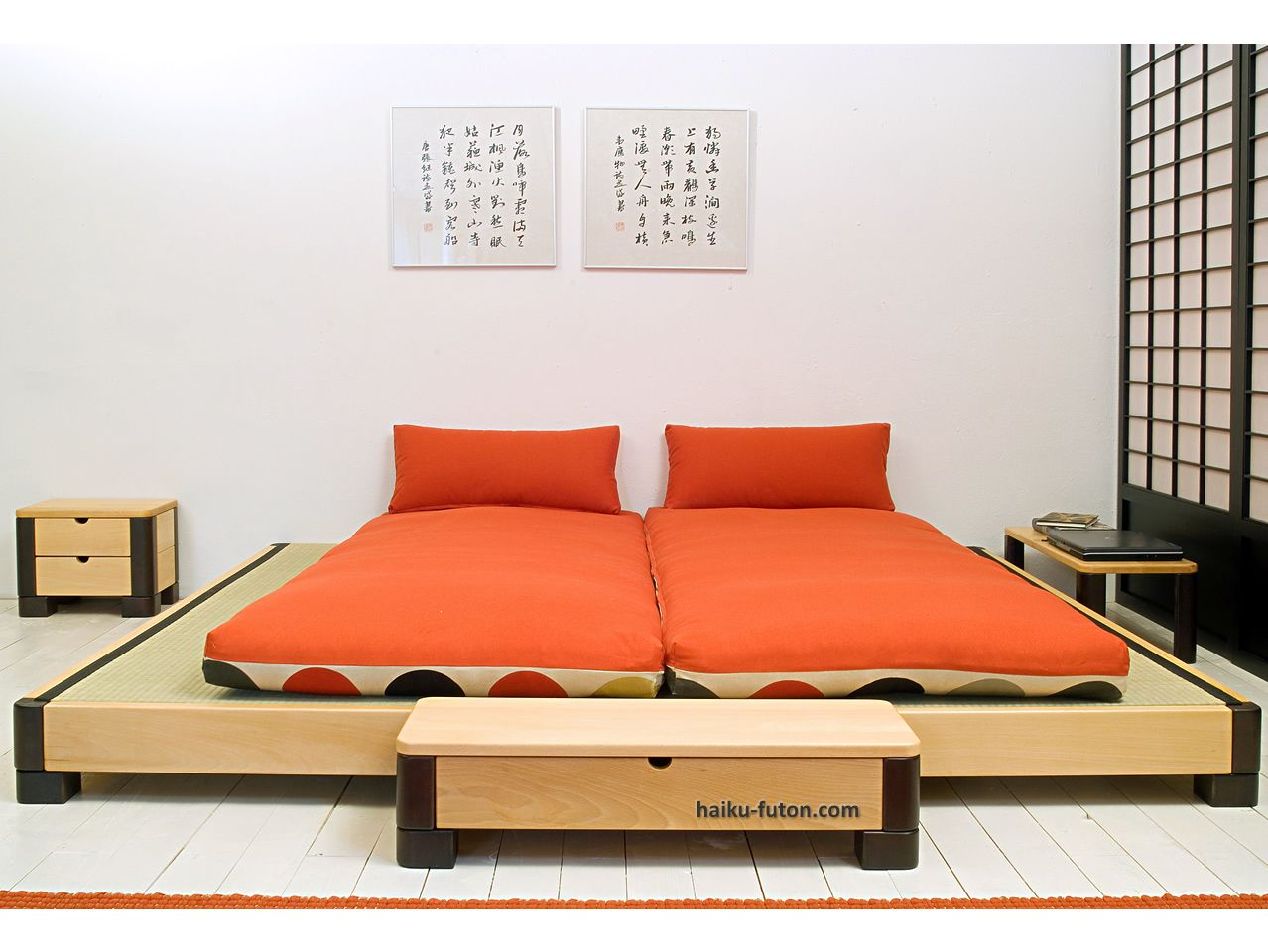 Cama Tatami, Cama japonesa | Habitaciones | Pinterest | Tatami cama ...