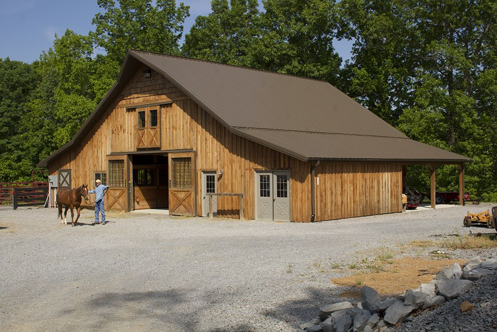 Morton Buildings Horse Barn Kingston Springs Tennessee