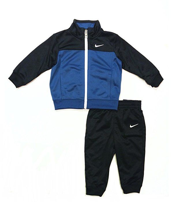 cb5db3500d30 Amazon.com  Nike Infant Toddler Baby Track Suit Jacket and Pants Two ...