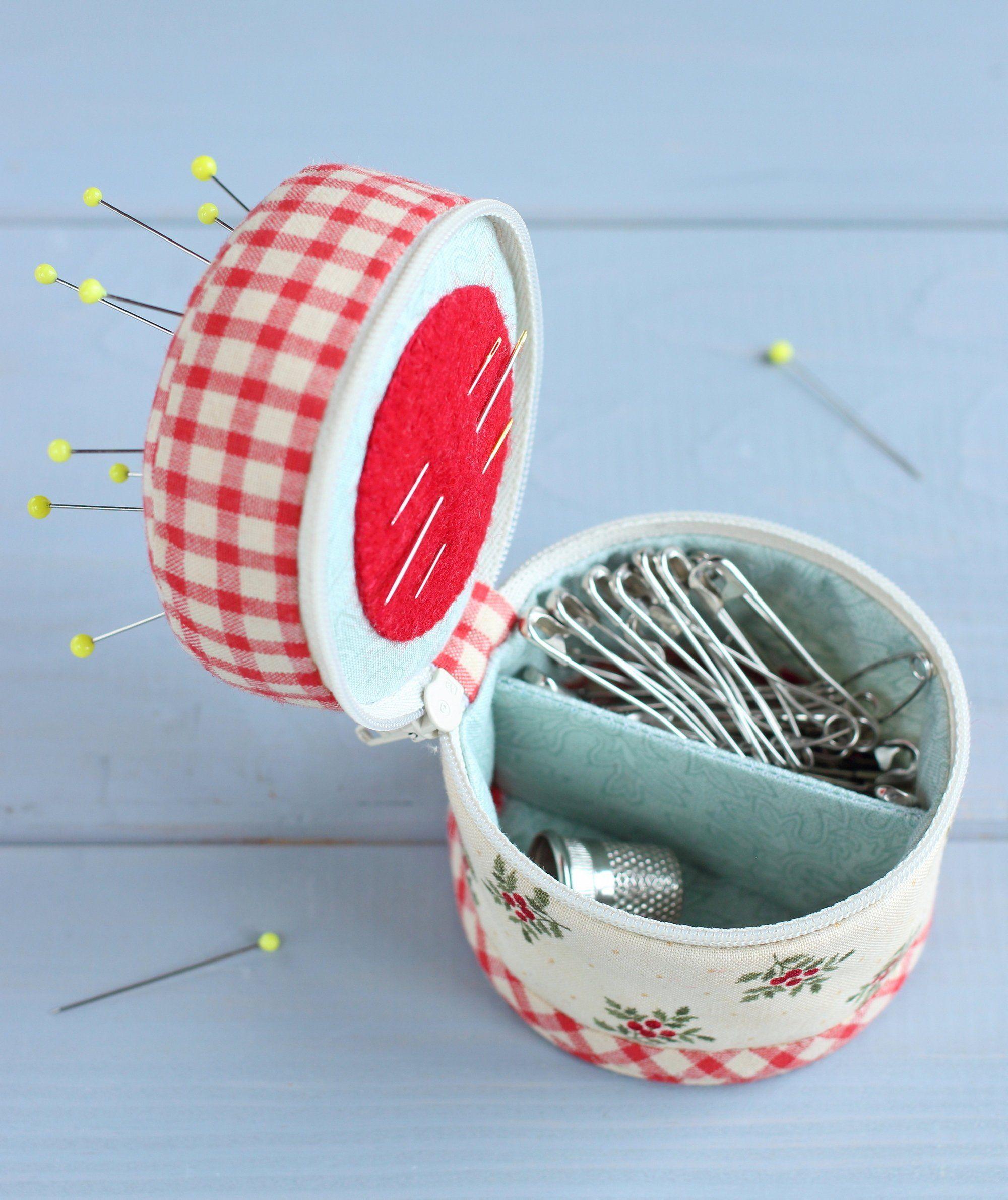 PDF Sewing Organizer Pincushion Sewing Pattern & Tutorial   Etsy ...
