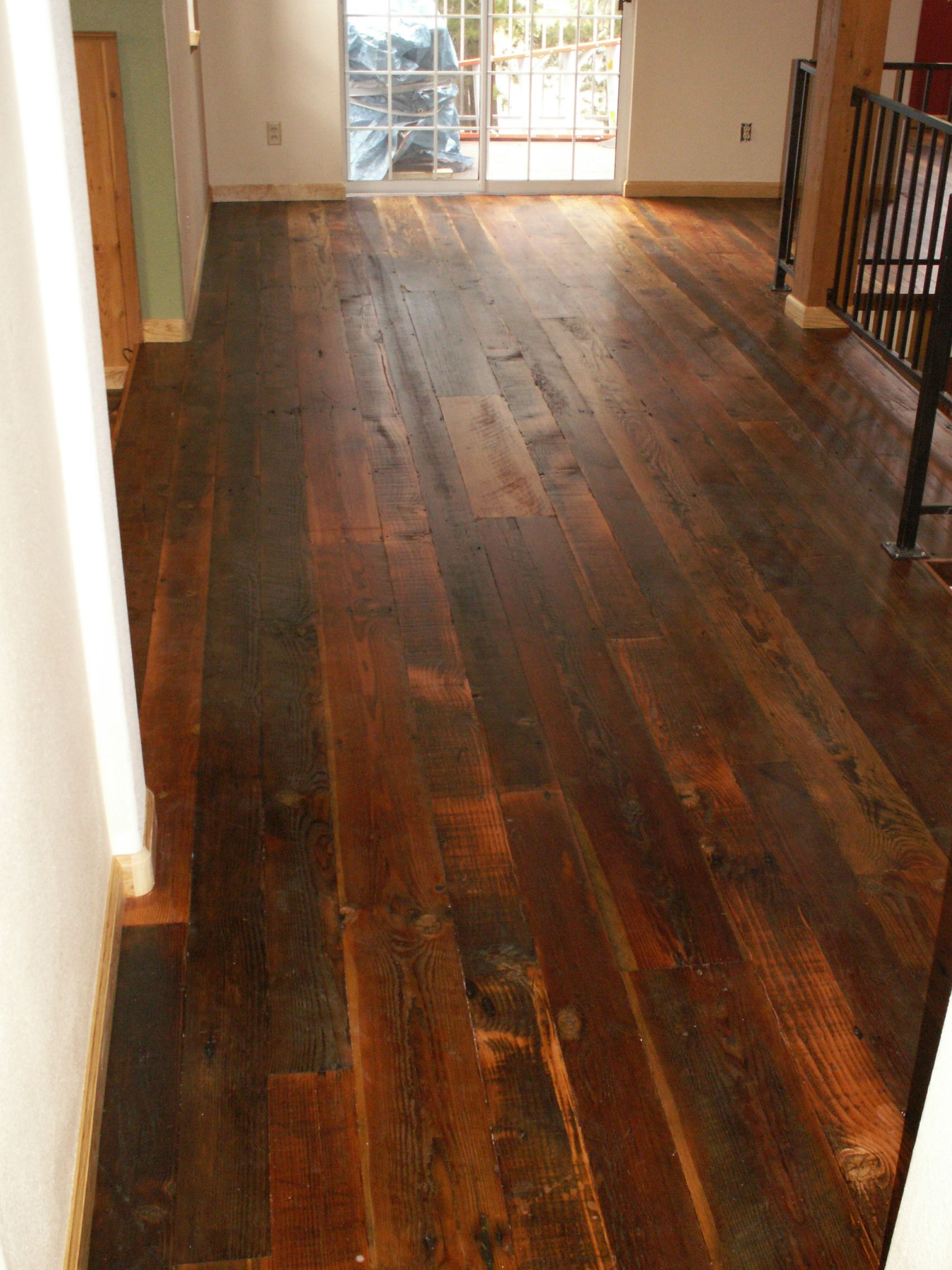 Aged Barnwood Reclaimed wood floors, Wide plank hardwood