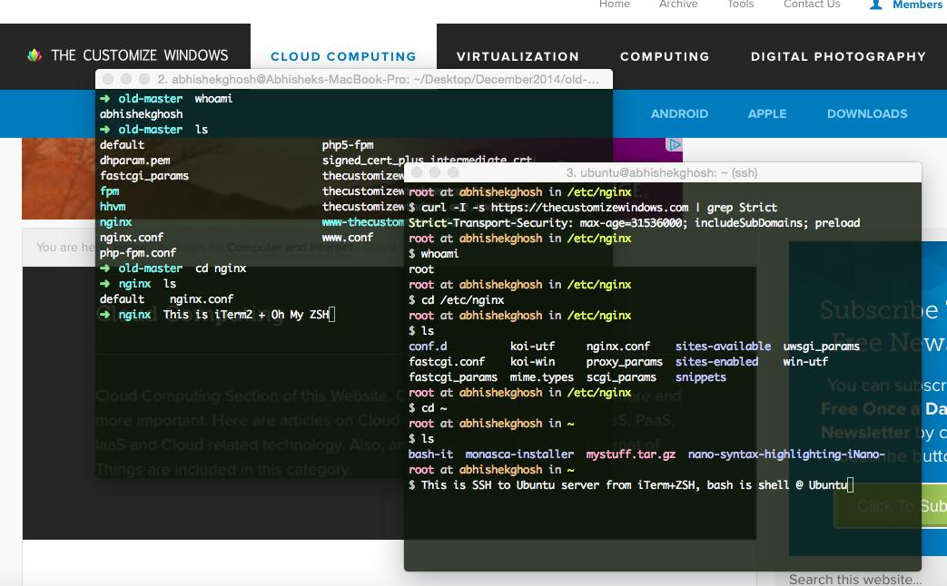 Colorful Bash on SSH with Syntax Highlighting (Ubuntu