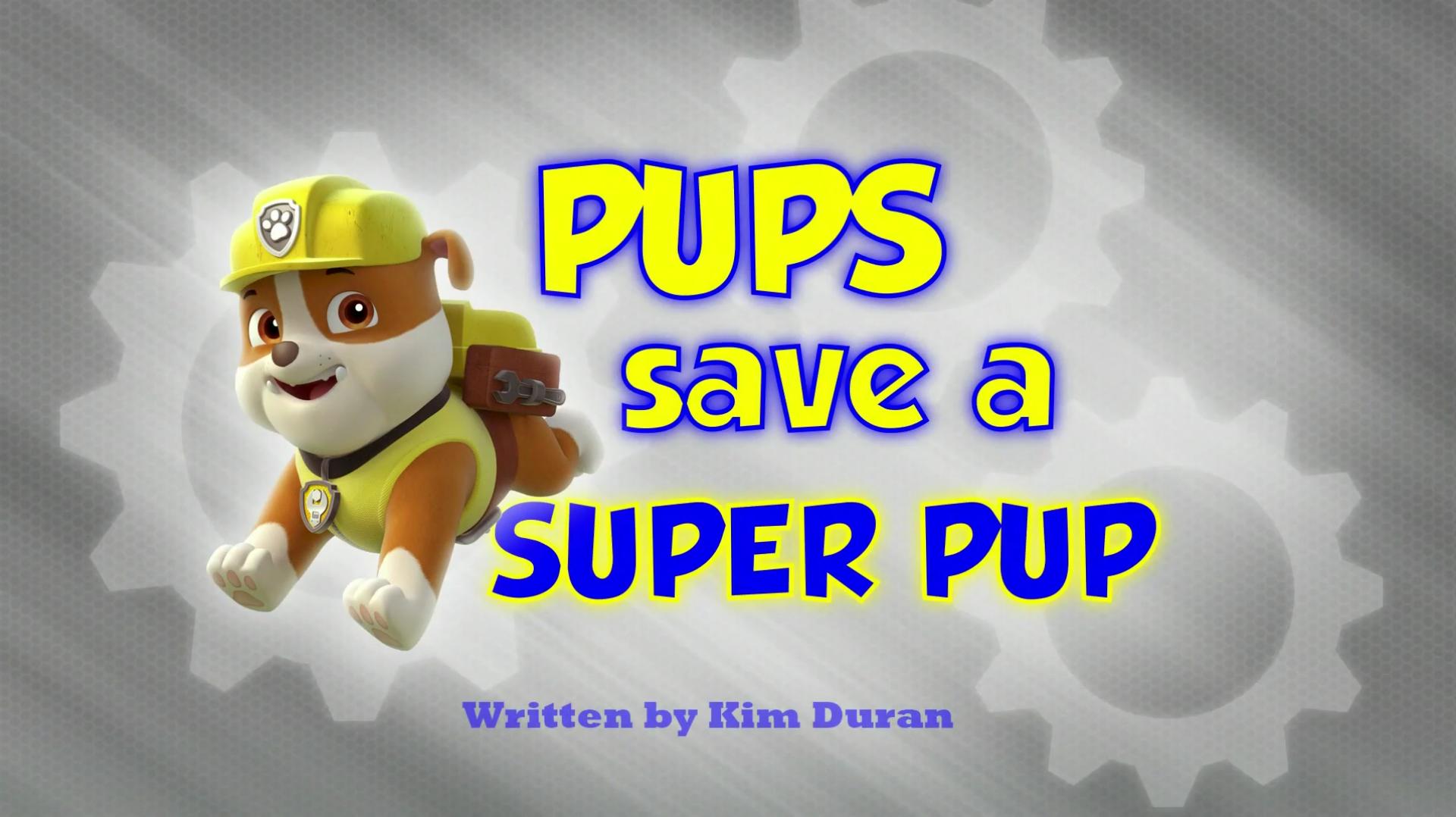 Pups Save A Super Pup Paw Patrol Pups Pup Paw Patrol
