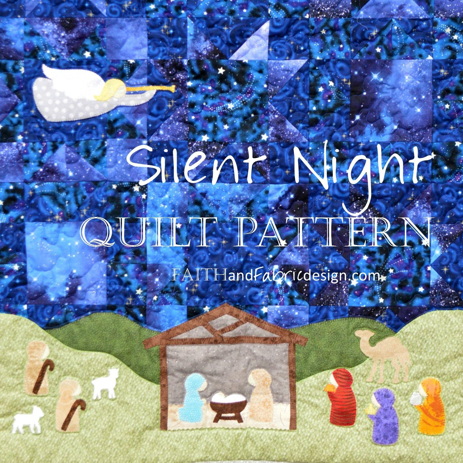 Nativity Quilt Pattern - Silent Night, A Christmas Quilt ... : nativity quilt pattern - Adamdwight.com
