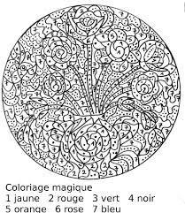 Coloriage Numerote Coloriage Magique Coloriage Coloriage Numerote