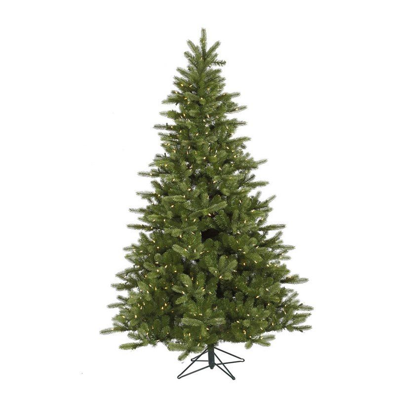 Vickerman 12 Ft King Spruce Full Pre Lit Led Christmas Tree Www Hayneedle Com Pre Lit Christmas Tree Spruce Christmas Tree Led Christmas Lights