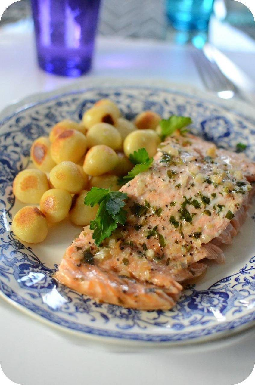 Photo of Baked salmon, quick and easy recipe