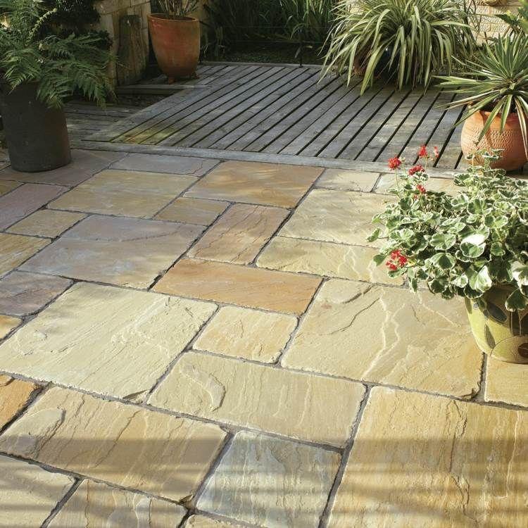 Terrassenplatten Aus Naturstein Geeignete Steinarten Vor