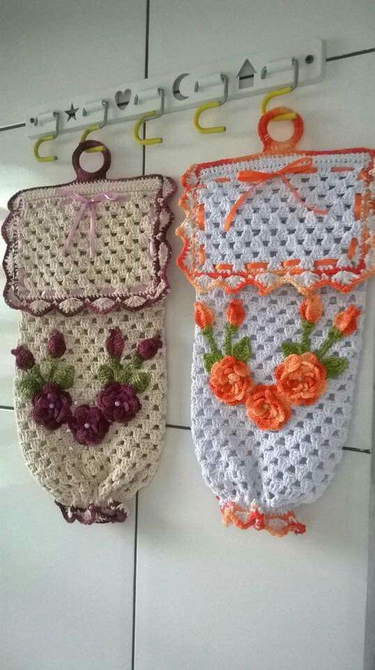Porta sacchetti plastica fai da te e hobby pinterest - Porta sacchetti ...