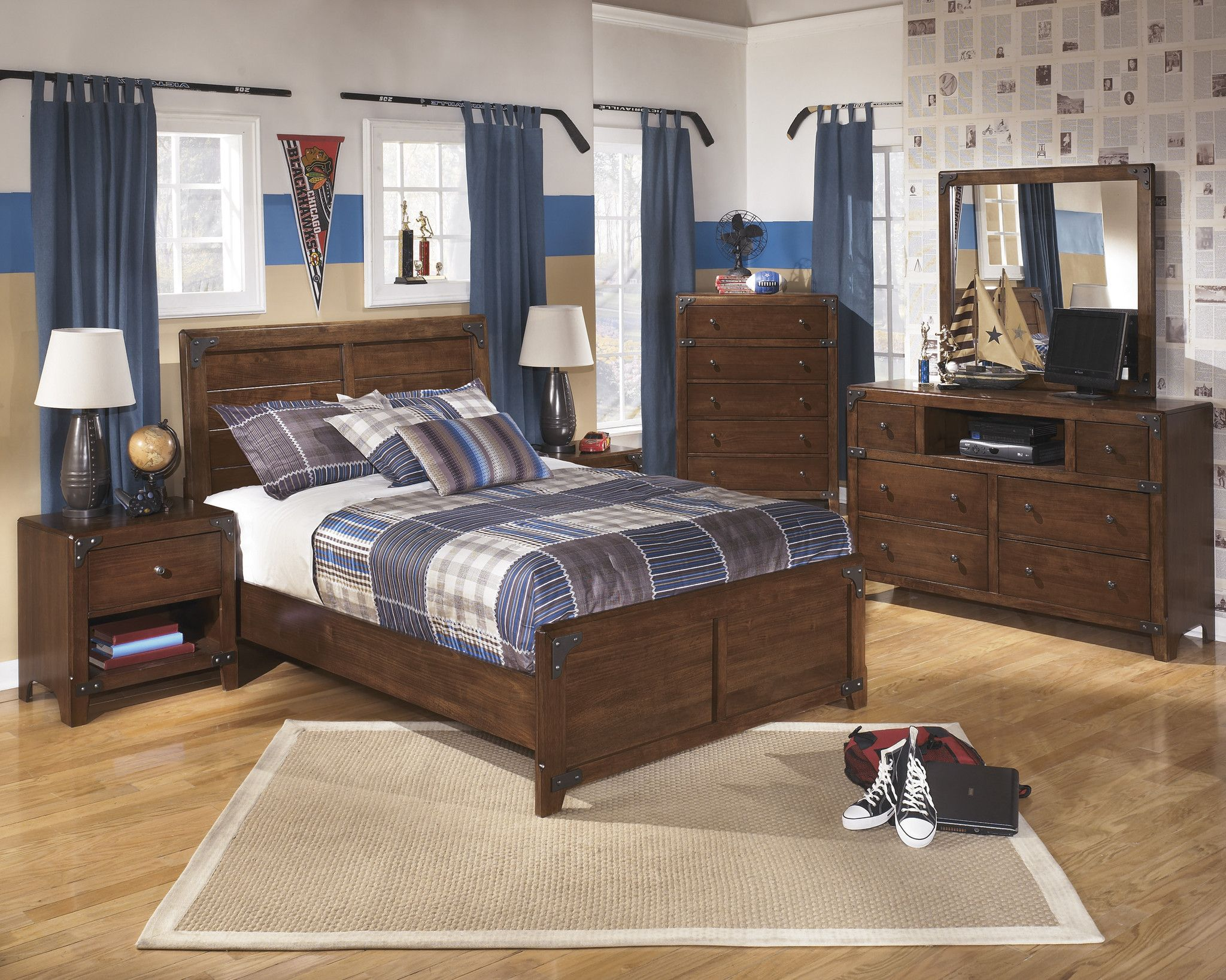 Delburne 5pc Kids Full Bedroom Set – Outfit My Home