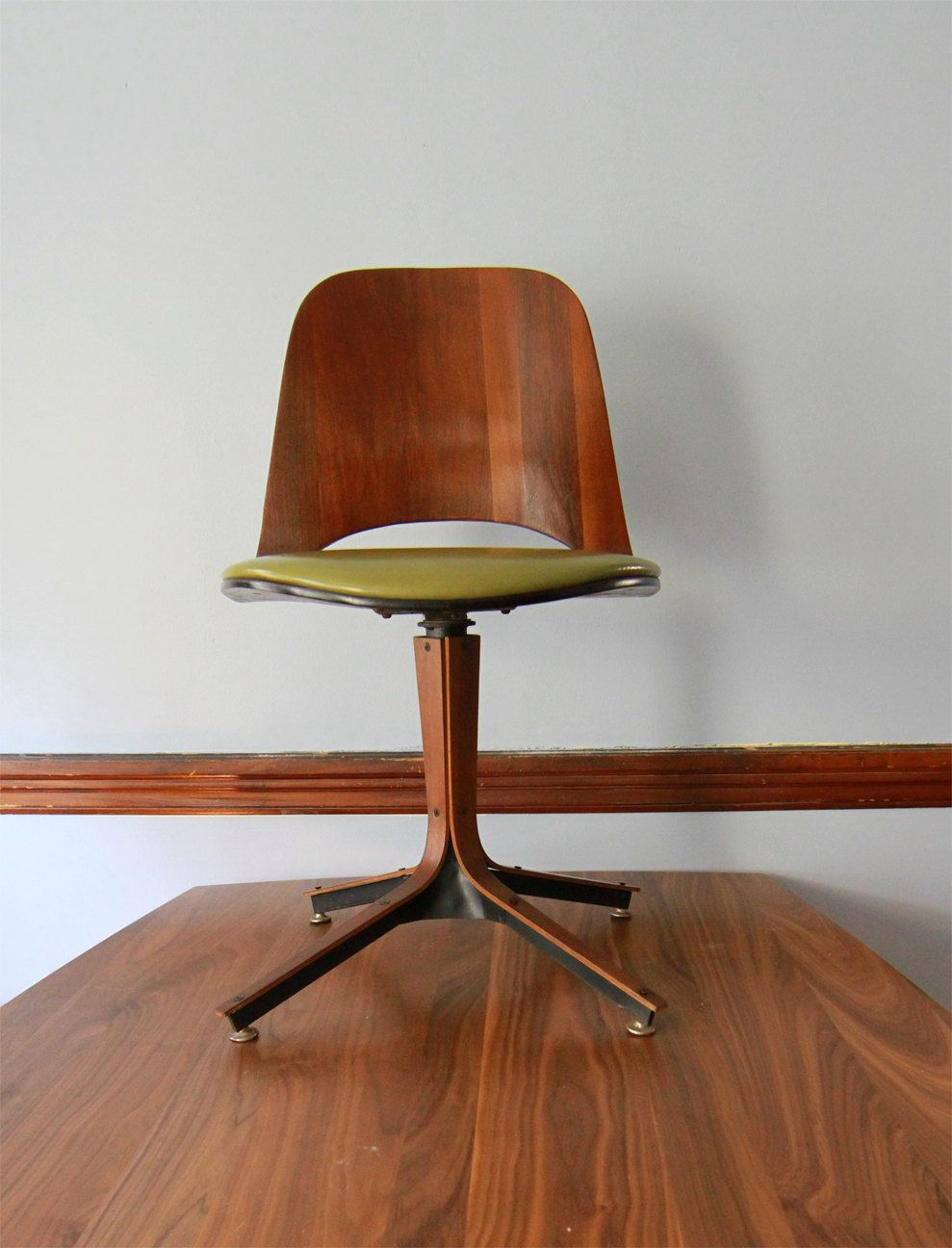 Plycraft Swivel Desk Chair Mid Century Modern Modern Desk Chair Mid Century Modern Desk Chair Mid Century Desk Chair
