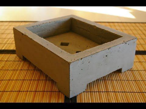 How To Make Bonsai Pot Modern Bonsai Pot Make Your Own Bonsai Pots Bonsai Pots Bonsai Diy Concrete Pots