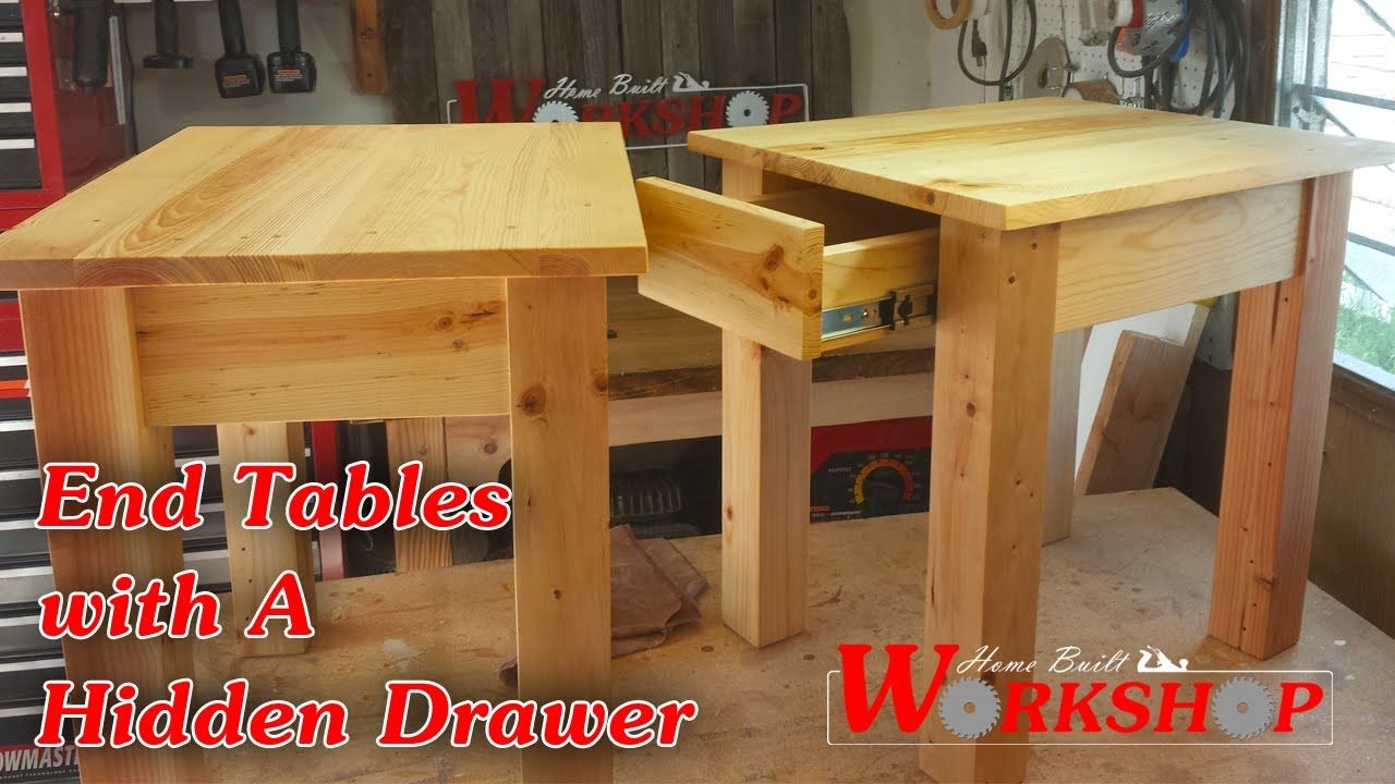 Wondrous How To Make End Tables Youtube Diy Home Improvements Machost Co Dining Chair Design Ideas Machostcouk