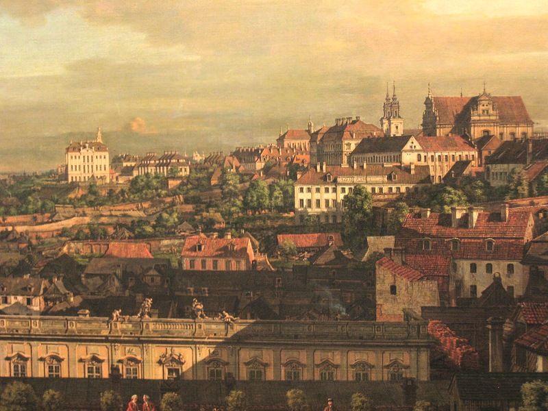 Картины, по которым восстановили Варшаву. Путешествие в 18 ...