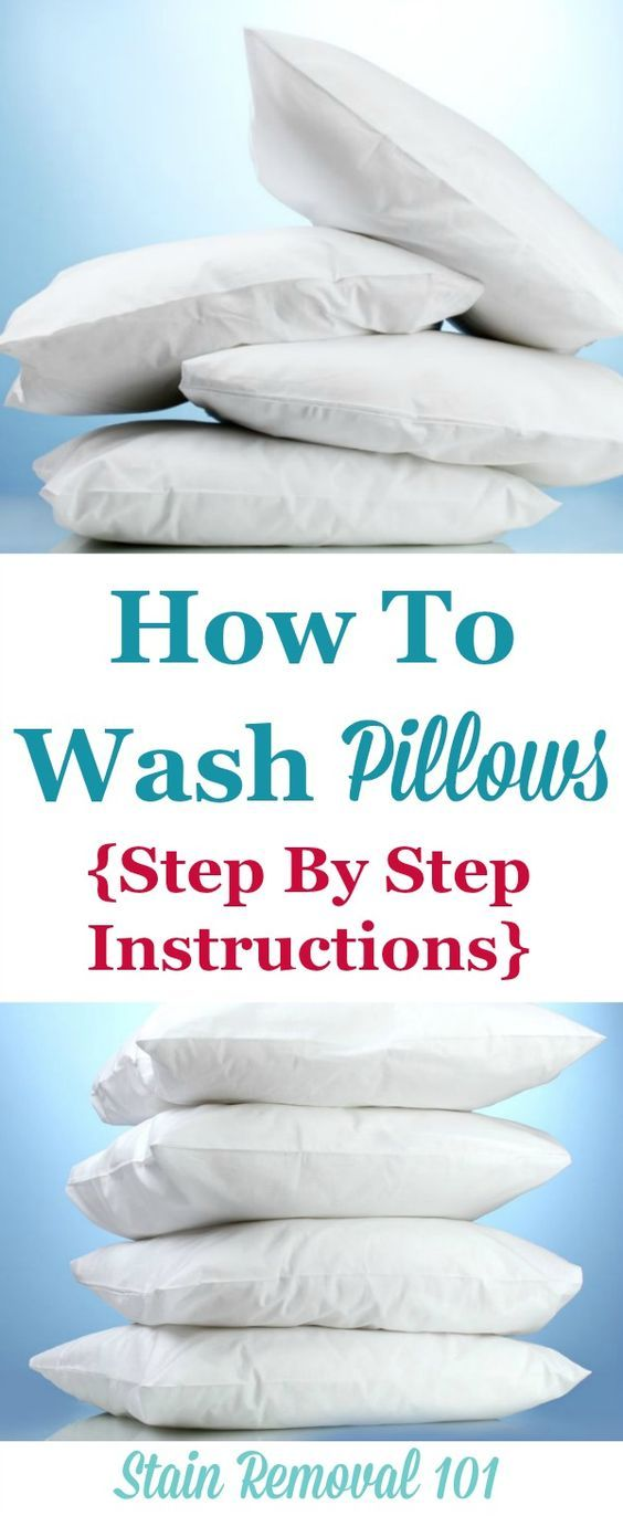 How To Wash Pillows Dry Them So Theyre Not Lumpy Homemaking