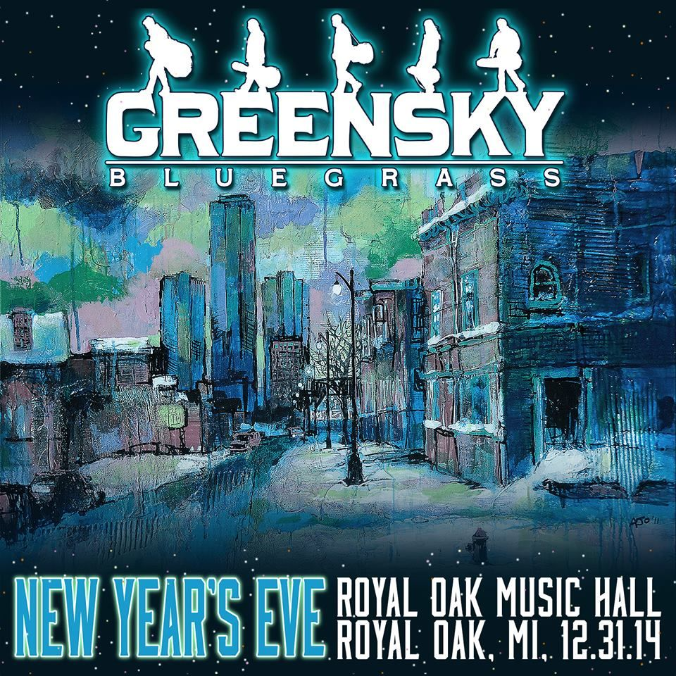 Greensky Bluegrass New Year's Eve Americana music