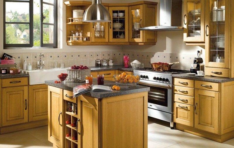 Foto modelo muebles cocina madera rustico 10 | Decoracion de ...