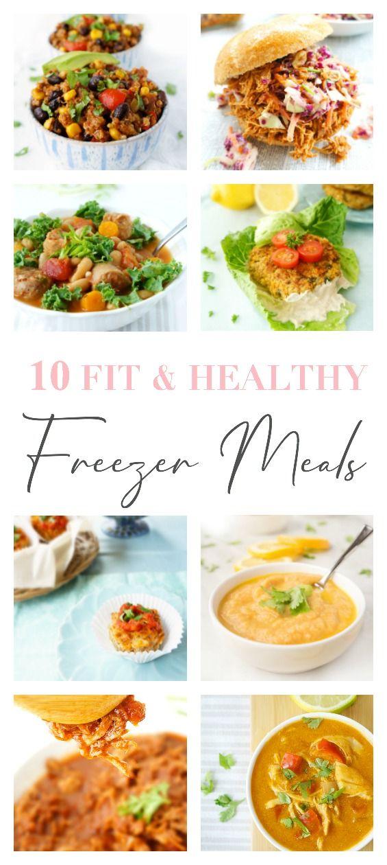 10 Fit & Healthy Freezer Meals images
