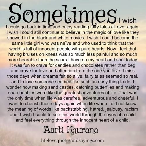 I Miss Being An Innocent Child Relationship Love Quotes Quotes