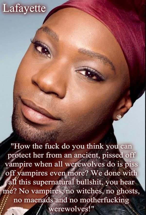 Lafayette Reynolds True Blood Nelson Ellis Blah Blah Vampire